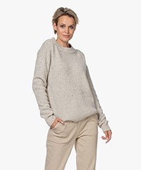 Josephine & Co Janna Merino Blend Melange Sweater - Sand