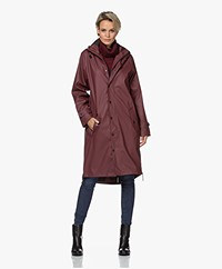 Maium 2-in-1 Rain Coat - Red brown