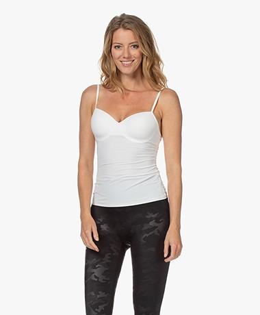 HANRO Allure Bra Camisole - Off-white