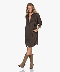 by-bar Dali Lyocell Twill Shirt Dress - Shadow