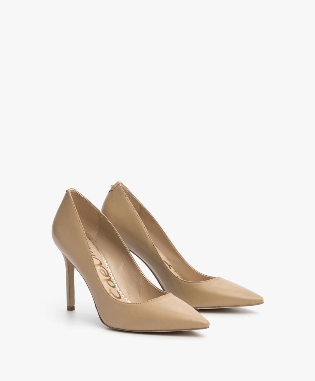 bc1932d52c3 Sam Edelman Hazel Leather Heels - Nude Classic - hazel e5638lj254 ...