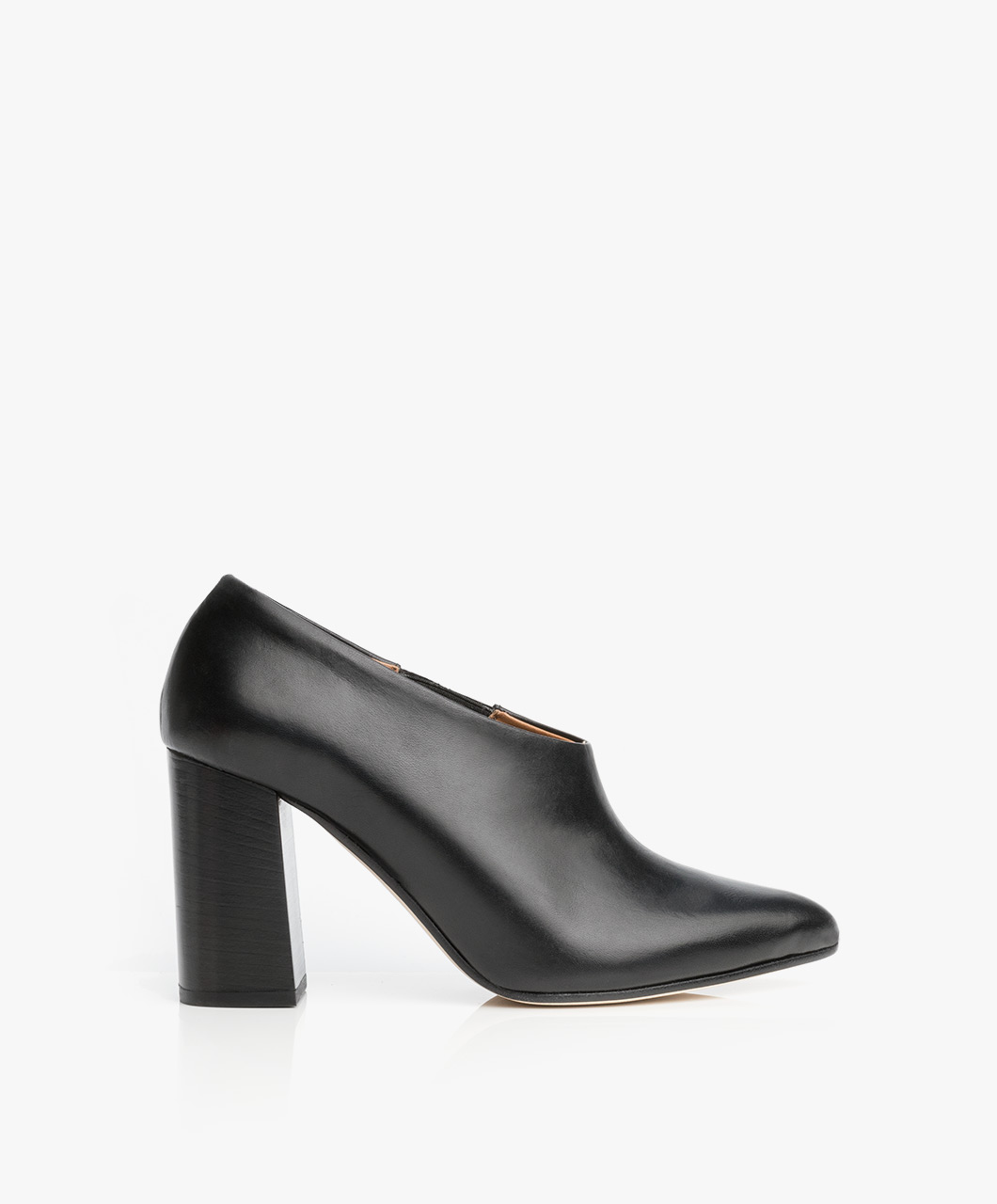 Immagine di ATP Atelier Ankle Boots Breia Low cut in Black Leather