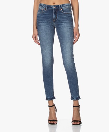Drykorn Need Stretch Skinny Jeans - Royal Blue