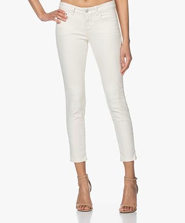Closed Baker Mid-rise Slim-fit Jeans - Cream