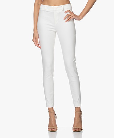 Drykorn Winch Stretchy Slim-Fit Pants - Off-white