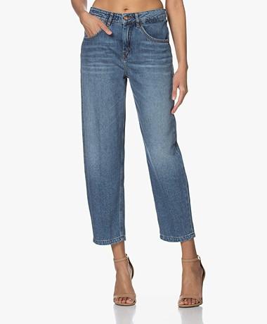 Drykorn Shelter O-Shape Jeans - Royal Blue