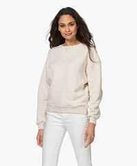 by-bar Bas French Terry Sweatshirt - Zand
