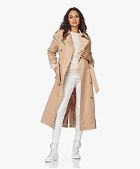Denham Belfairs Cotton Twill Trench Coat - Nomad