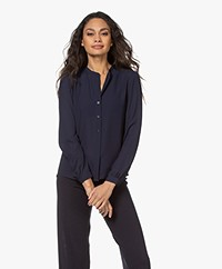 Filippa K Adele Blouse - Deep Blue