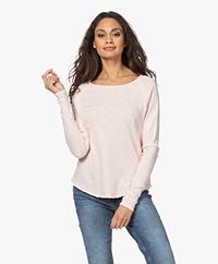 American Vintage Sonoma Slub Sweatshirt - Vintage Pinkish