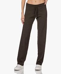 Sibin/Linnebjerg Tillie Merino Knitted Pants - Brown