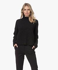 Filippa K Mika Yak Sweater - Charcoal Mêlee