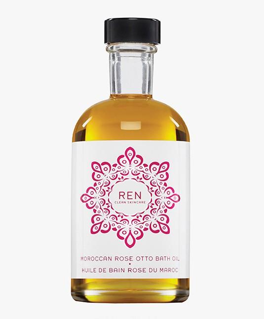REN Clean Skincare Moroccan Rose Otto Bath Oil