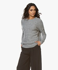By Malene Birger Biagio Alpaca Blend Sweater - Grey Melange