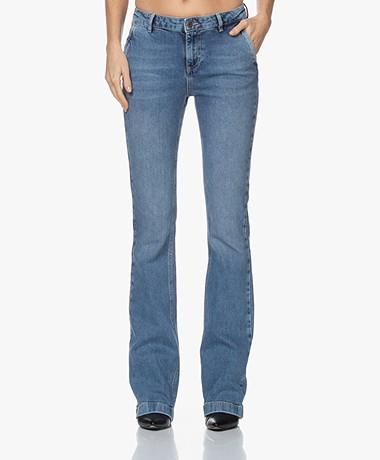 by-bar Leila Long NRX Flared Jeans - Light Denim