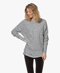 By Malene Birger Biagio Mohair Blend Sweater - Grey