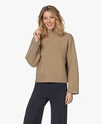 extreme cashmere N°163 Ken Cashmere Mock Sweater - Harris