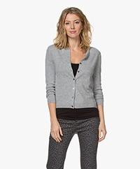 Resort Finest Lucca Cashmere Basic Vest - Grijs