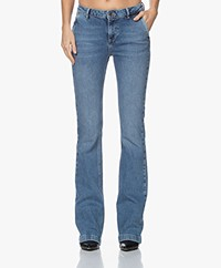 by-bar Leila Long NRX Flared Jeans - Light Denim