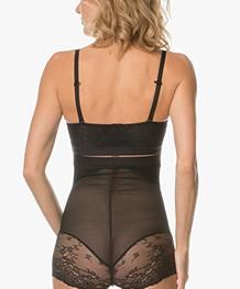SPANX® Spotlight on Lace High Waisted Slip - Very Black