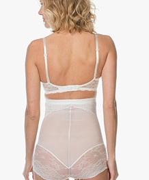 SPANX® Spotlight on Lace High Waisted Slip - Clean White
