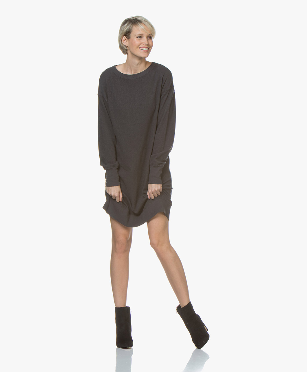 Imagem de American Vintage Dress Sonoma Cotton Sweater in Carbon Grey