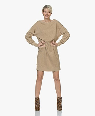American Vintage Sonoma Cotton Sweater Dress - Brown Sugar