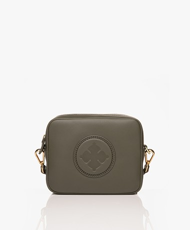 By Malene Birger Gemma Mini Schoudertas - Olive Night