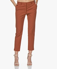 Joseph Bing Court Cropped Pantalon - Roest
