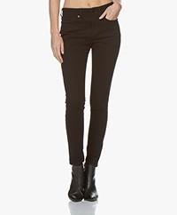 Rag & Bone Cate Mid-Rise Skinny Jeans - No Fade Black