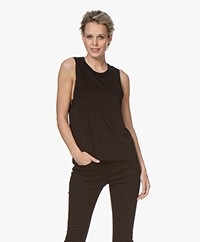 Filippa K Soft Sport Tencel Muscle Tank - Black