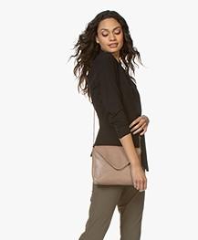 BY-BAR Run Leather Shoulder Bag - Old Pink