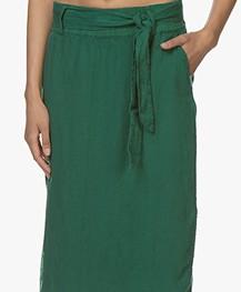 Josephine & Co Carlos Linen Skirt - Green