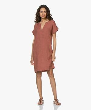 BY-BAR New Gitte Linen Dress - Copper