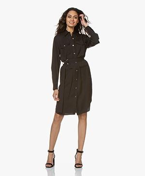 Filippa K Sienna Satin Dress - Black