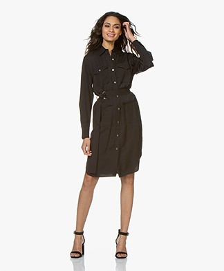 Filippa K Sienna Satin Dress - Black