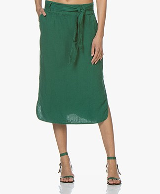 Josephine & Co Carlos Linen Skirt - Green