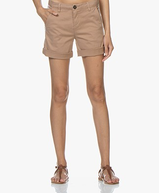 MKT Studio Papra Chino Shorts - Beige/Terracotta