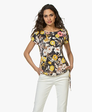 no man's land Viscose Jersey T-shirt - Buttercup