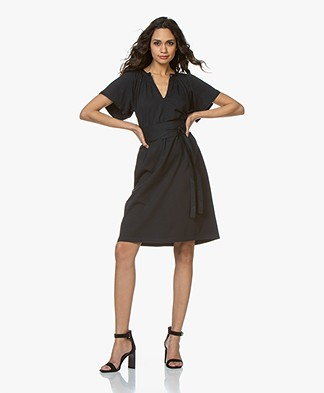 Vanessa Bruno Linsay Jersey Dress - Marine