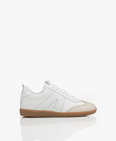 Copenhagen Leather Sneakers - Cream