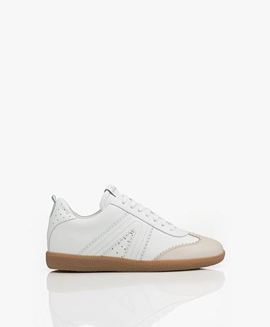 Copenhagen Leren Sneakers - Cream
