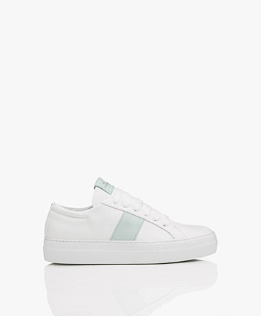 Copenhagen Leather Sneakers - White/Mint