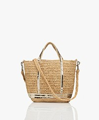 Vanessa Bruno Baby Raffia Handbag - Naturel/Light Gold