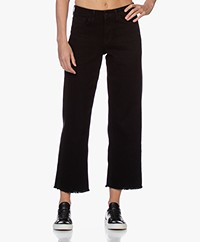 by-bar Mojo Straight Cropped Jeans - Black
