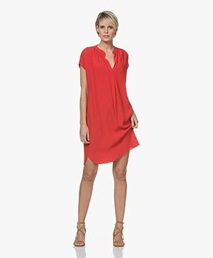BY-BAR Victoria Crepe Dress - Salsa
