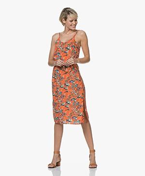 Marie Sixtine Mallory Viscose Dress with Print - Sea