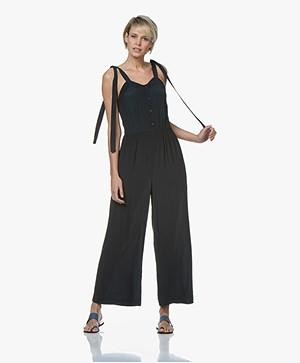 Marie Sixtine Melody Crêpe Jumpsuit - Prusse