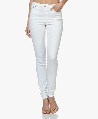 Closed Lizzy Power Stretch Skinny Jeans - White