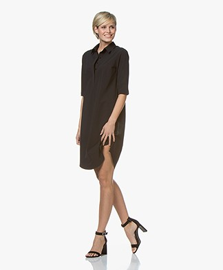 Josephine & Co Roos Travel Jersey Dress - Black